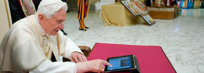 O Papa Bento XVI e as mídias sociais - Blog -