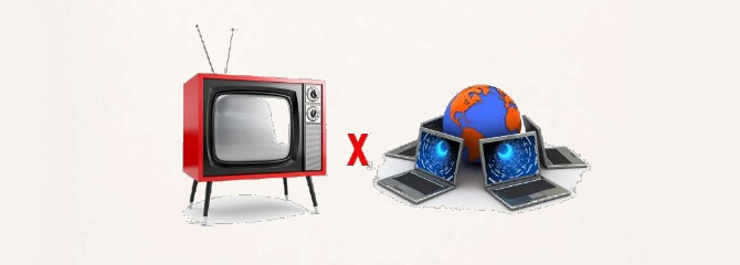 Publicidade na Web x Publicidade na TV