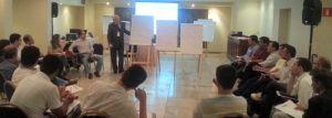 Evaldo Bazeggio realiza atividades de Planejamento Estratégico em área vinculada à CGU