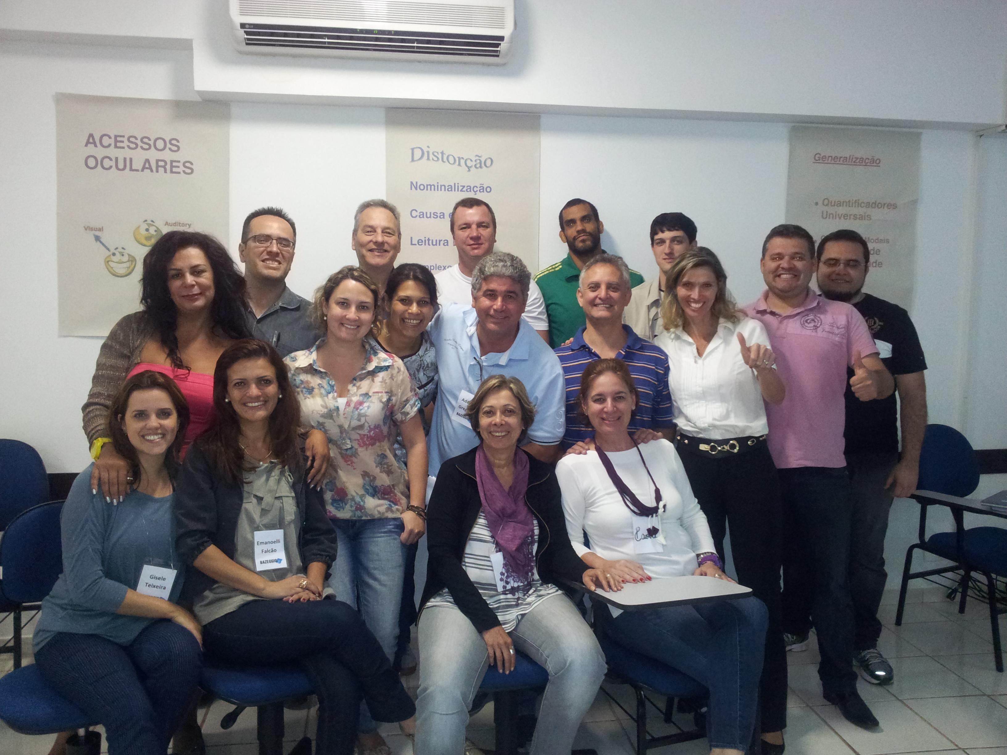 Bazeggio realiza primeira etapa do Curso de Programação Neuro Linguística