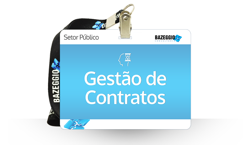 gestao de contratos - Curso: Gestão de Contratos