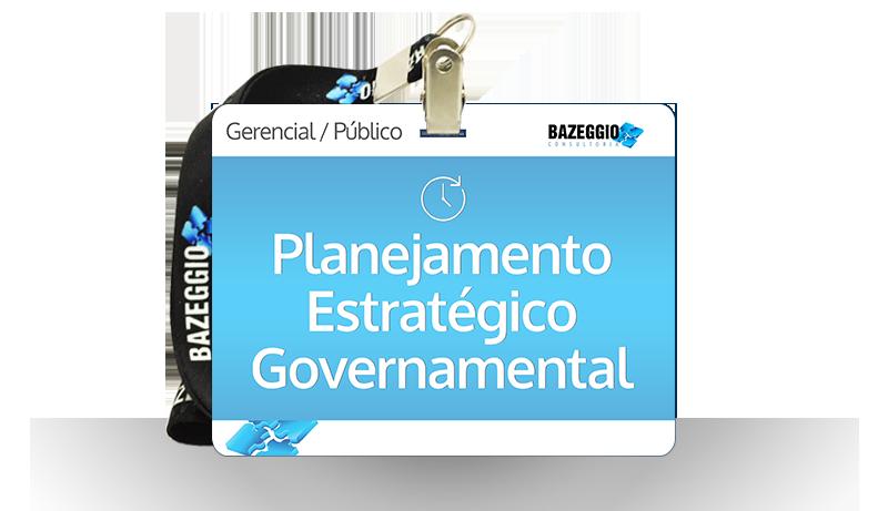 planejamento estrategico governamental - Cursos -