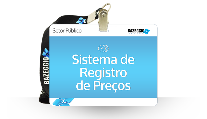 sistema registro precos - Curso: Sistema de registro de preços
