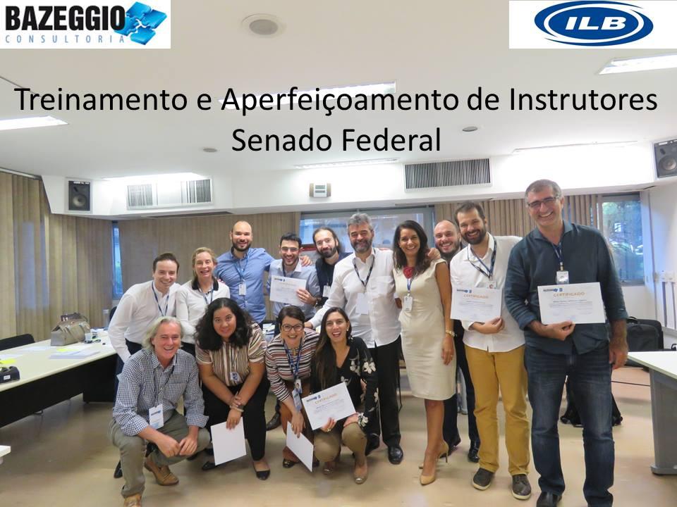 Brasília – Aperfeiçoamento de Instrutores (PFG) – Senado Federal – 26/02 a 02/03/2018