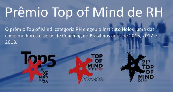 top of mind RH isor 600x318 - Formação em coaching em Brasília 2018 -