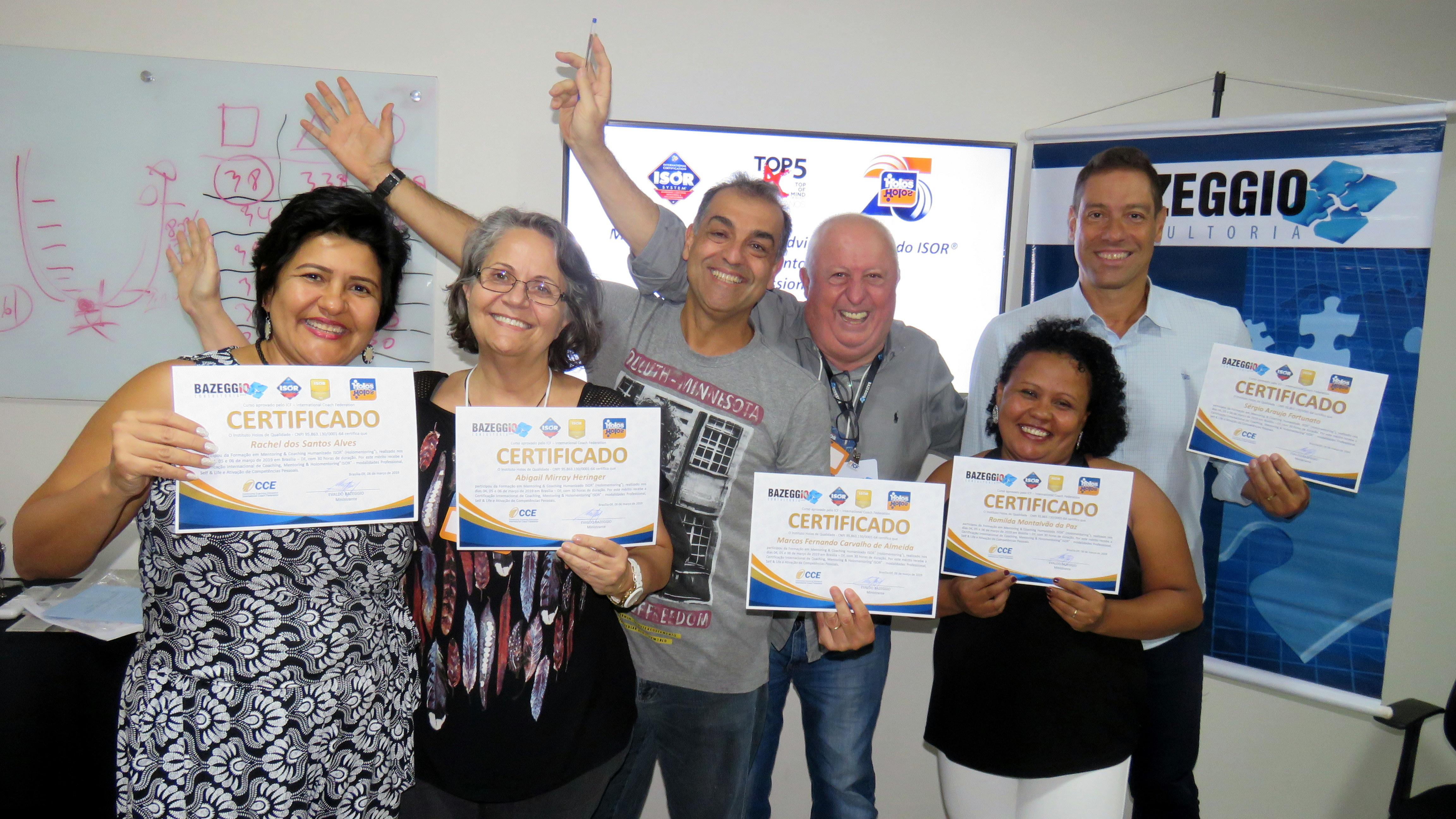 Brasília – 04 a 06/03/2019 – Formação em Coaching com Ênfase em Mentoria